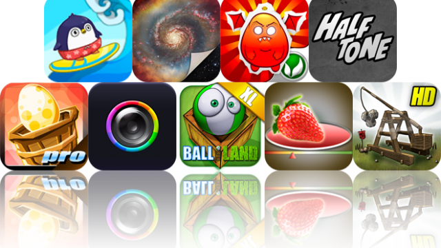 iOS Apps Gone Free: South Surfers, Galaxart HD Pro, Game Of The Year, And More