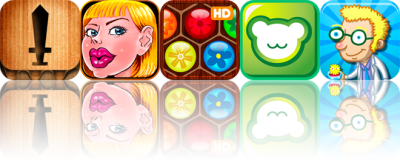 iOS Apps Gone Free: Papercut!, Toon Face Maker, Flower Board HD, And More