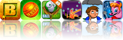 iOS Apps Gone Free: Blockado Jungle, Haypi ThunderBall, Balliland HD, And More