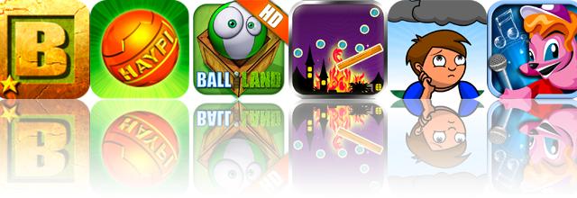 iOS Apps Gone Free: Blockado Jungle, Haypi ThunderBall, Balliland HD, And More