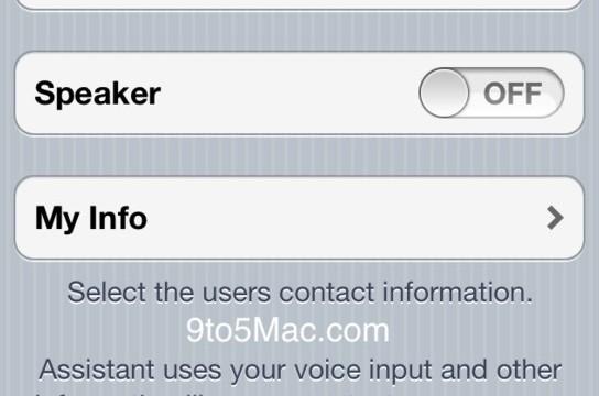 Latest SDK Sheds More Light On iOS 5 Siri Integration