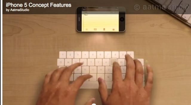 A Brillant iPhone 5 Concept...