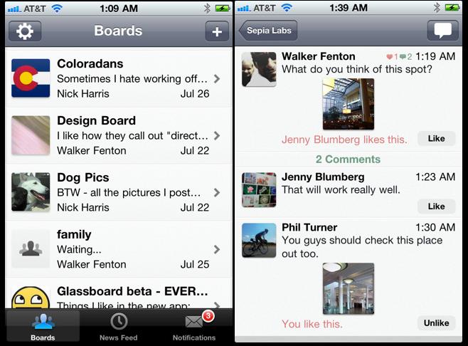 Glassboard App Lets You Share Information Privately