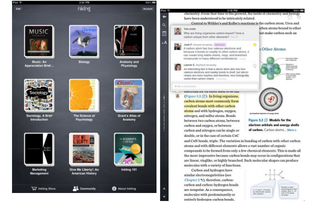 Inkling Offers Interactive Textbooks For iPad Owners