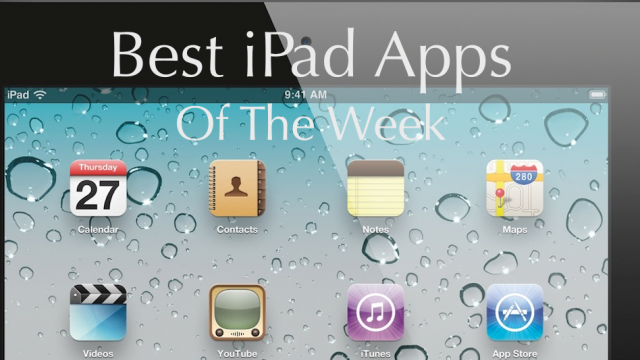 The Best iPad Apps Of The Week, August 28-September 3, 2011