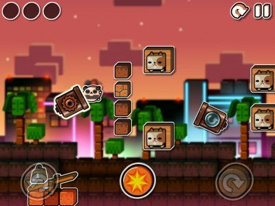 A Beautiful Sunset And More Challenges Await In Land-A Panda And Land-A Panda HD v1.2
