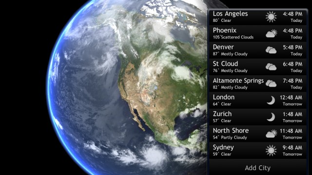 Living Earth HD Updated With Custom Alarm Options, Better Graphics Rendering, And More