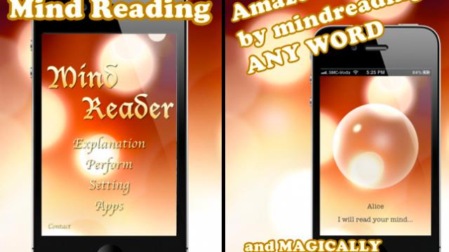 Magic Kit: Mind Reader App Debuts And We've Got Promos