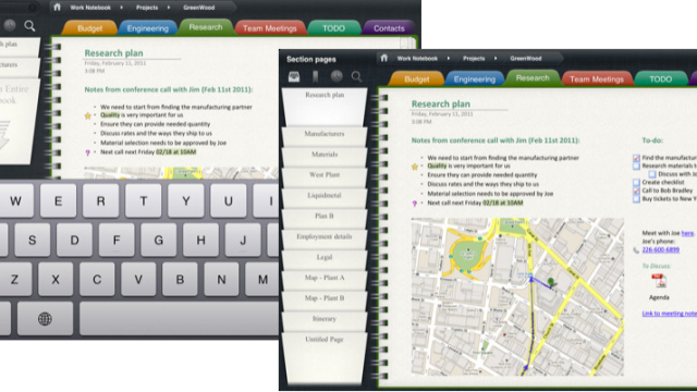 Outline - OneNote Notebook App Arrives Along With Limitations