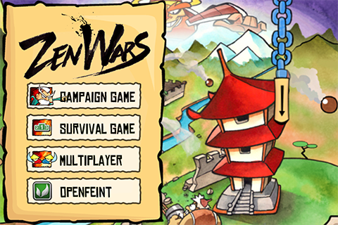 Zen Wars Brings Multiplayer Castle Defense To Game Center