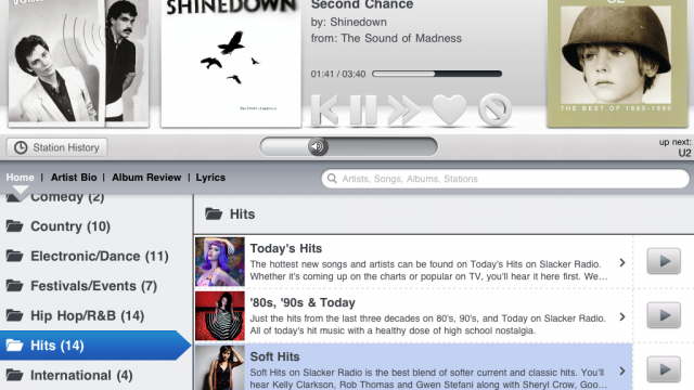Slacker Radio Makes Us Forget About Spotify