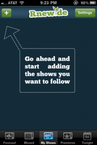 Rnewde: Keep Up With The Status Of Your Favorite Shows