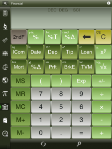 Calc Pro HD - The Top Mobile Calculator by Panoramic Software Inc. screenshot