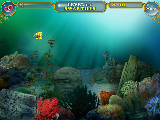 Travel all over the ocean world in this new big fish games for Big fish games new