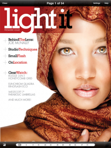 """Photographer Scott Kelby Launches The New """"Light It"""" iPad Only Publication"""