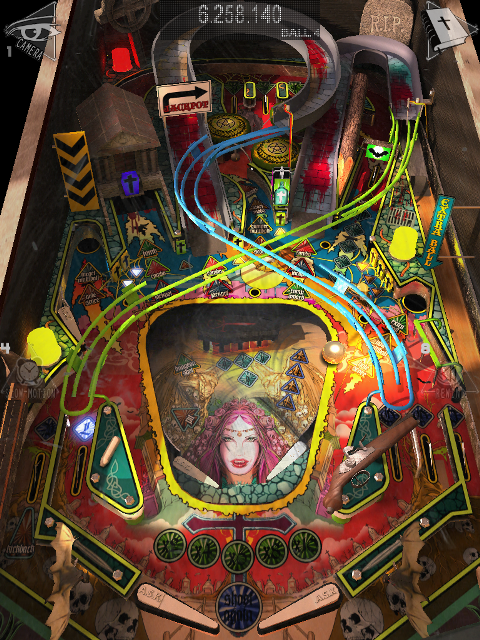 Play Realistic Looking Pinball With Real Pinball HD - Vampire