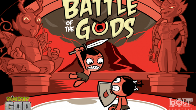 Pocket God Reaches Update Number 40, Battle Of The Gods