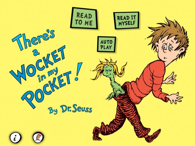 There S A Wocket In My Pocket From Dr Seuss And border=