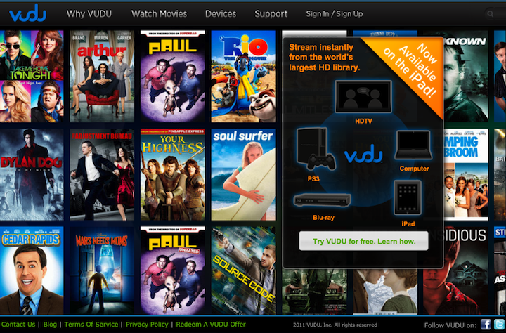 We Asked, Vudu Listened, As Movie Streaming Service Comes To iPad