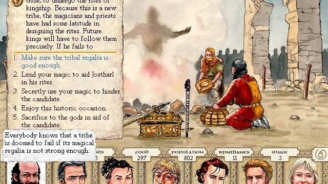 Simulation-Stratgy Game, King Of Dragon Pass, Gets An iOS Port