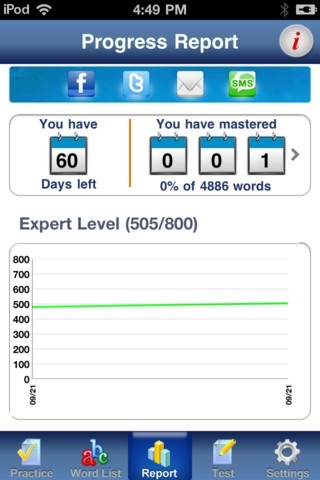 IntelliVocab For SAT Deluxe Edition Adds Integration With Social Networks