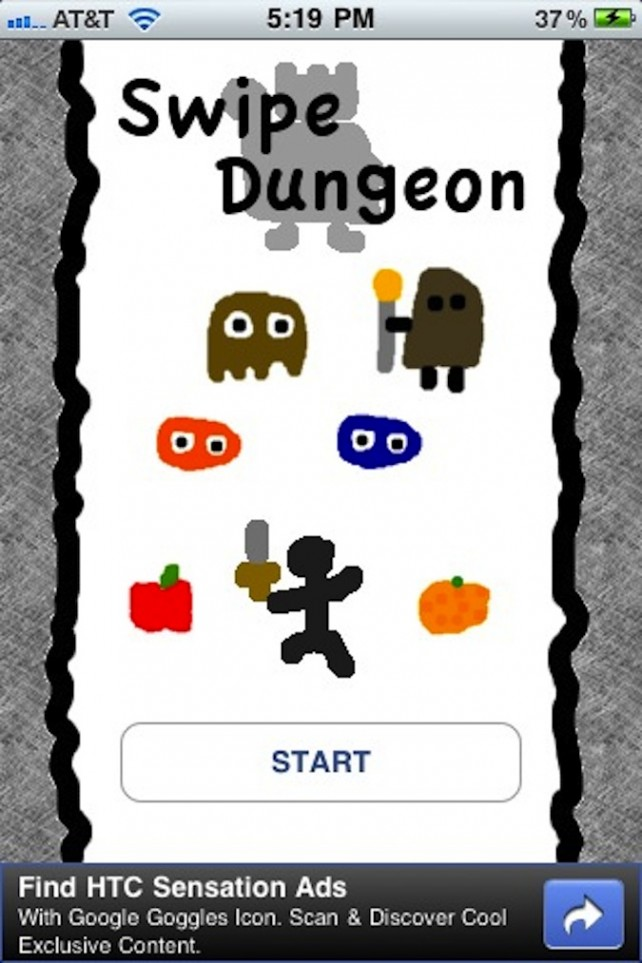 Quirky App Of The Day: Swipe Dungeon
