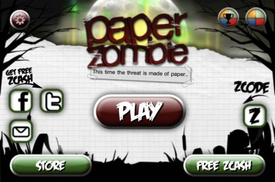 Get Your Daily Dose Of Zombie Blasting With Paper Zombie