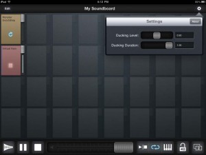Soundboard for iPad by Ambrosia Software, Inc. screenshot