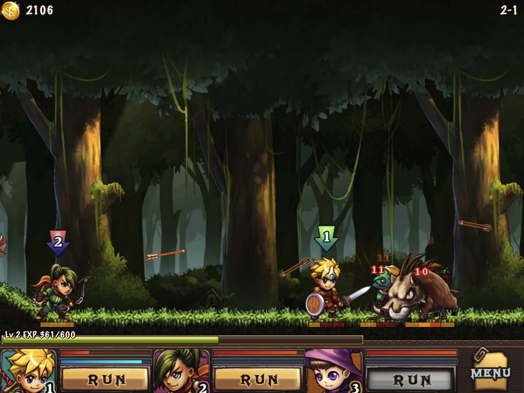 Hero's Way Brings Classic Side-Scrolling RPG Gaming To iOS