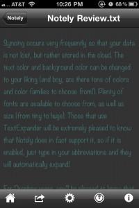 Notely - Dropbox Text Editor by Magoaten screenshot