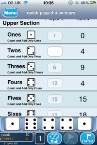 Dice With Buddies by Stofle Designs screenshot