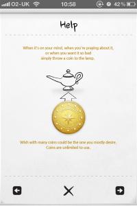 My Wonderful Wishes * Pocket Genie by haha Interactive screenshot
