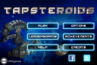 Tap Frantically To Protect Your Spaceships In The Arcade Shooter, Tapsteroids