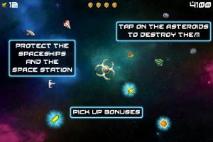 Tapsteroids by UNAgames screenshot