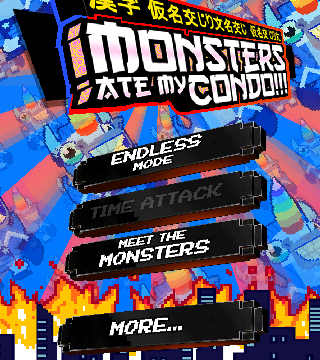 Jenga Meets Match-3 In This Flashy Game From Adult Swim, Monsters Ate My Condo