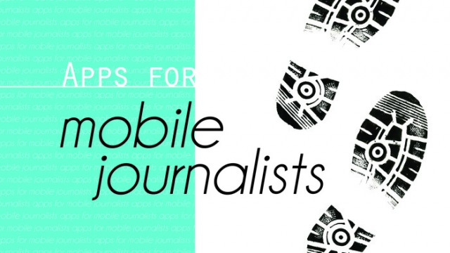 New AppList: Apps For The Mobile Journalist