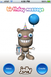Quirky App Of The Day: Jolly Talker Birthday