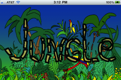 Quirky App Of The Day: Jungle!