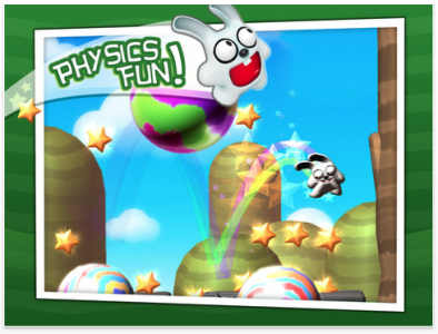 Make Friends With Physics In Bounce The Bunny
