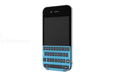 An Amazing Concept: SmartKeyboard - A Smart Cover Keyboard For Your iPhone