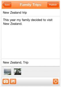 Blogger by Google screenshot