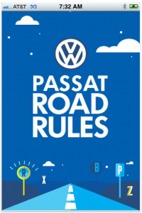 Passat Road Rules by Volkswagen of America screenshot