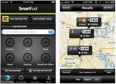 SmartFuel iPhone App Finds The Cheapest Fuel, So You Don't Have To