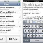 WordPress App Gets An Update - Enhances Content Editor, Adds Full Screen Mode And More