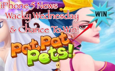 AppAdvice Daily: iPhone 5 Announcement Date Revealed, Pat Pat Pets Giveaway, And Wacky Apps That Will Blow Your Mind