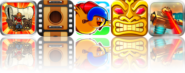 iOS Apps Gone Free: The Oregon Trail, Learn Guitar, RocketBird World Tour, And More