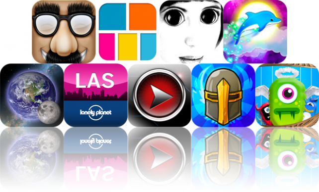 iOS Apps Gone Free: Faces, Frame Magic, Gaga Eyes, And More