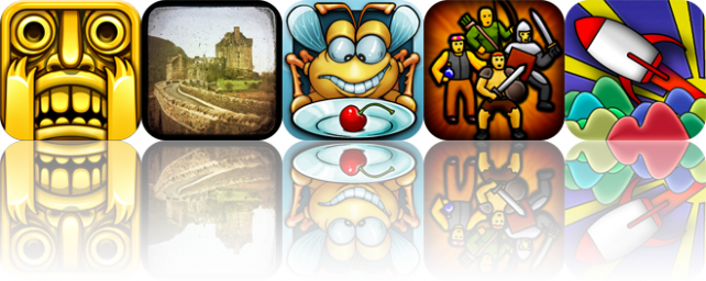 iOS Apps Gone Free: Temple Run, TtV Photo Studio, Critter Quitter, And More