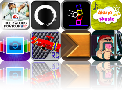 iOS Apps Gone Free: Tiger Woods PGA Tour 12, Enso Writer, Knockdown!, And More