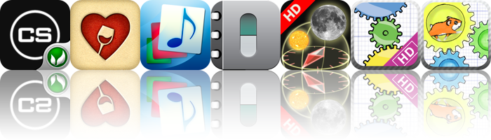 iOS Apps Gone Free: ClusterStorm, Memorable Wines, Music Theory Flashcards, And More